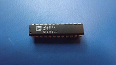 (1PC) AD767JN ANALOG DEVICES DAC 1-CH Current Steering 12-bit 24-Pin PDIP