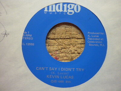 northern soul kevin lucas cant say i didnt indigo crossover boogie soul