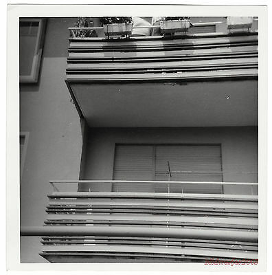 altes Foto / vintage photo – Balkon, Blumenkasten