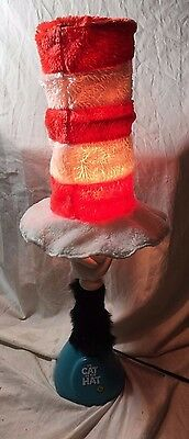 Vintage and Rare Complete Dr. Suess Cat In the Hat Lamp