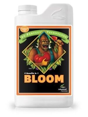 Advanced Nutrients pH Perfect Bloom 3 Part Base Nutrients Grow Micro 1L Liter