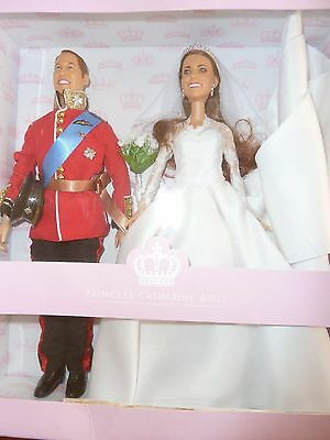 Princess Catherine (Kate Middleton) and Prince William 2011 Ltd Edition Dolls