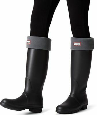Hunter  Charcoal Grey Welly Socks Size M (UK 3-5)