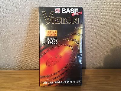 Emtec Vision 180/3 Hour Vhs Blank Tapes For Recording - New And Sealed