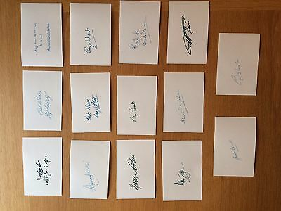 1966 World Cup Football Autographs