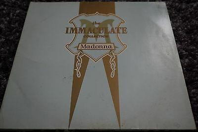 Madonna The Immaculate Collection First Press Double Vinyl Sire 7599-26440-1