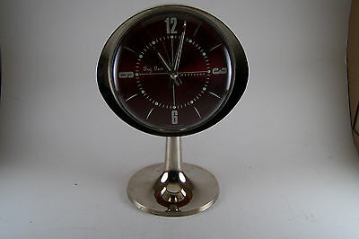 Westclox Big Ben Pedestal Alarm Clock !964 (Works)