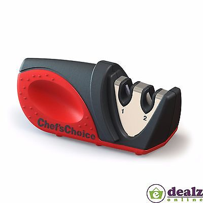 Chef's Choice Two Stage Compact Knife Sharpener Kitchen Gadget