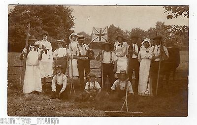 Worcestershire, Stourport, Rural Farming Group, Empire Day?, Rp