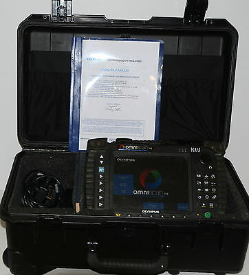 Olympus OmniScan MX 16:128 Ultrasonic Phased Array Flaw Detector TOFD