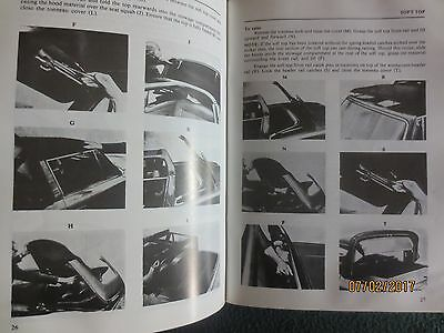Triumph Stag Owners Handbook book