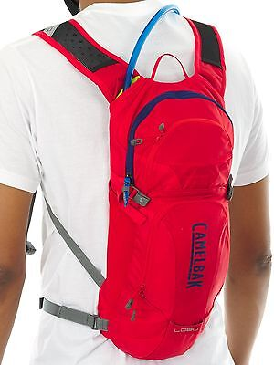 Sac hydratation Camelbak 2017 LOBO with 9 Litre Reservoir Racing Rouge-Pitch Ble