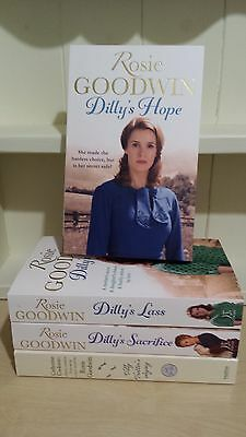 Collection of 4 x Paperback Books by Rosie Goodwin - Dillys Hope - NEW