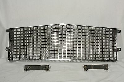 Cadillac DeVille Fleetwood Brougham Egg Crate Grille Grill w Mounting Brackets