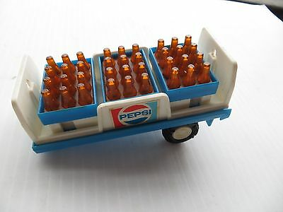 Buddy L Pepsi semi delivery Trailer Truck with three bottle cases No Cab