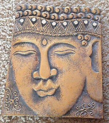 latex mould for making large Buddha plaque