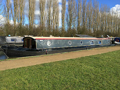 65ft x 11ft Widebeam Canal Boat