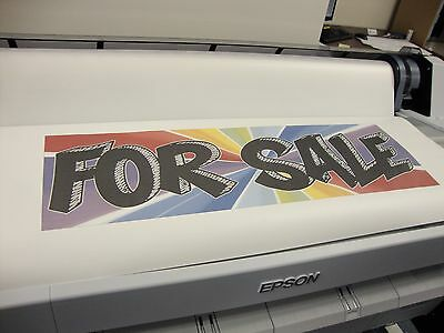 Epson Surecolor F6200 Dye Sublimation Printer Used Good Condition