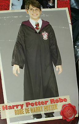 Harry Potter boys 5-7 yr size 8-10 med Robe Halloween Costume Daniel Radcliffe