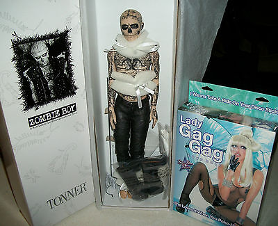 Lady Gaga Rick Genest tattoo Zombie Boy SDCC Comic Con Born This Way Doll Gay