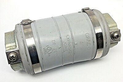 """Gafco DF-200 2"""" Expansion Deflection Coupling Joint"""