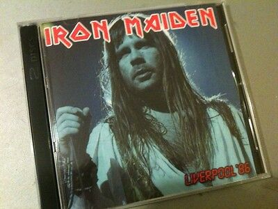 Iron Maiden Double CD Liverpool England Somewhere In Time Tour 1986