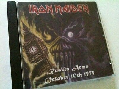 Iron Maiden Concert CD Ruskin Arms London UK Early Days 1979