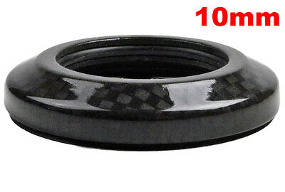 """OMNI Racer WORLDS LIGHTEST Integrated Headset Conical Carbon Spacer 1-1/8"""" 10mm"""