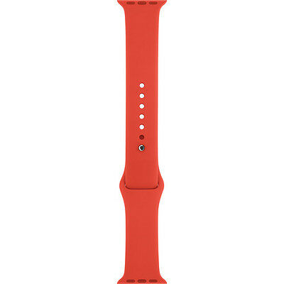 New Apple 42MM Sport Band for Apple Watch - Orange