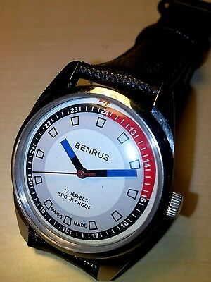Orologio Vintage benrus Manual Swiss Made  Mm 36 Watch Excellent