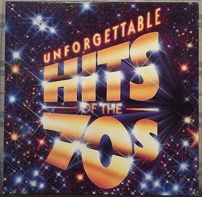 """Unforgettable Hits Of The 70's 8 Record Box Set 12"""" Vinyl Record LP's"""