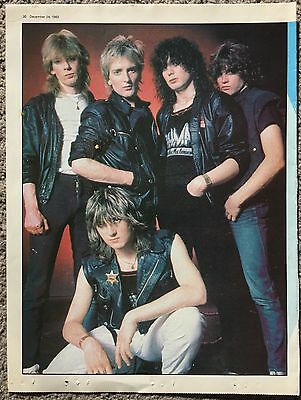 DEF LEPPARD - 1983 full page poster