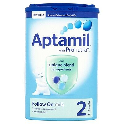 Aptamil 2 Follow On Milk Powder 900 Grams from 6 to 12 months