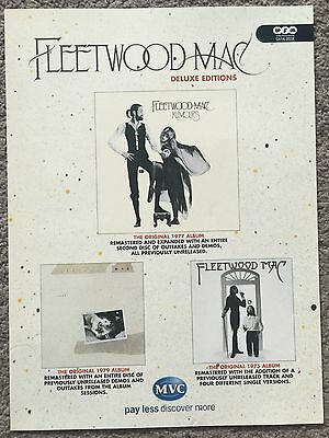 FLEETWOOD MAC - DELUXE EDITIONS 2004 full page press ad poster