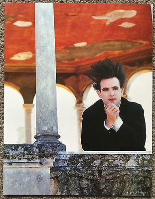 THE CURE / ROBERT SMITH - full page magazine poster
