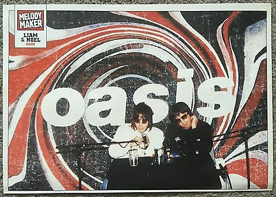 OASIS / LIAM NOEL GALLAGHER - 1999 full page magazine poster