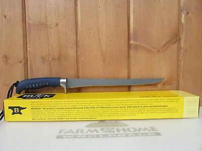 Buck Knife ~ 225BLS Silver Creek Fillet Knife Fishing ~ New ~ Free Shipping