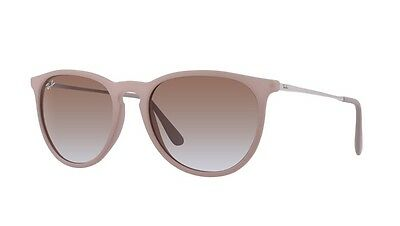 Ray Ban Erika RB4171 Brown and Silver Frame Brown Gradient Lens 54mm