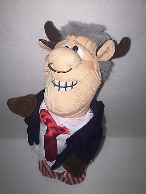 Infamous Meanies Bull Clinton Plush Stuffed Animal Toy 8""