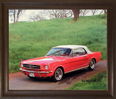 "1969 FORD MUSTANG CONVERTIBLE NEW A4 CANVAS GICLEE ART PRINT POSTER 11.7/"" x 8.3/"""