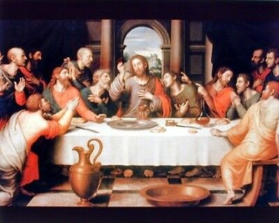 Jesus Christ The Last Supper Religious Catholic Picture Art Print (8x10)