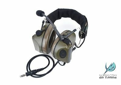 ZTAC Z-Tactical Z041 COMTAC 2 Style Noise Reduction Headset for Airsoft - OD