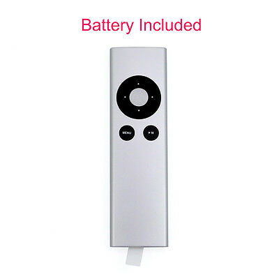 New MC377LL/A Replaced Remote for Apple TV 2 3 Mac Music System with Battery