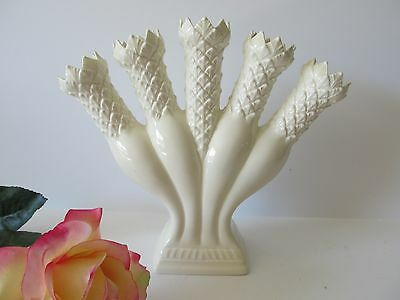 Beautiful Wedgwood Williamsburg Restoration Posy Holder Five Finger Vase EUC!