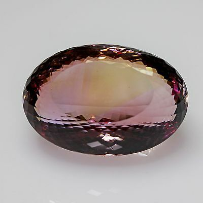MUSEUM SIZE !!!!!  AMETRINE NATURELLE 134,40 carats, TOP COLOR