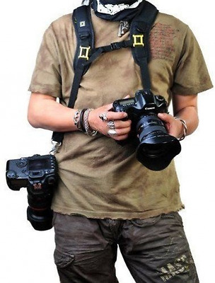 Rainbowimaging Quick Release Dual-shoulder Camera Neck Strap for Canon Nikon Oly