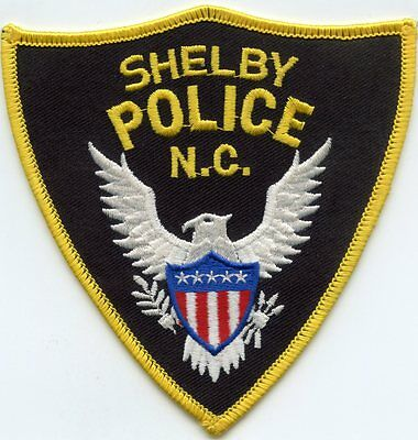 Shelby North Carolina Nc Police Patch