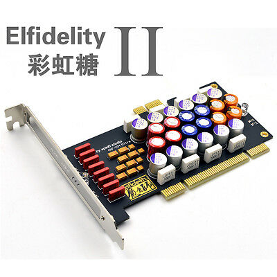 Elfidelity Power Filter Card for Computer Audio Enhancement For PCI and PCI-E
