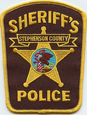 Stephenson County Illinois Il Sheriff Police Patch