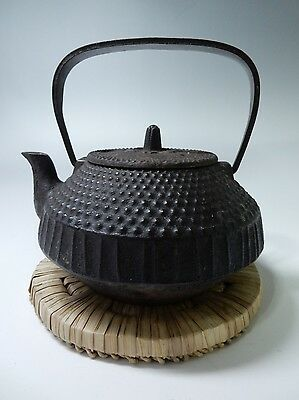 Japanese Antique Nanbu Iron Tea Kettle Tea Pot Tetsubin Chado Tea Ceremony